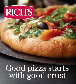Rich's. Good pizza starts with good crust.