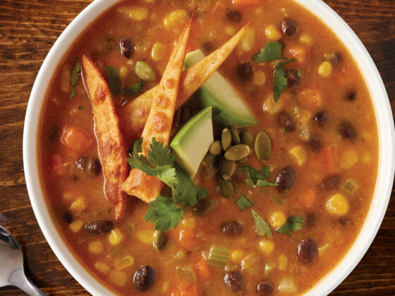 Creamy Pumpkin Tortilla Soup Recipe