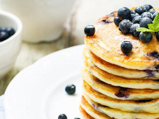 Lemon Blueberry Pancakes Recipe