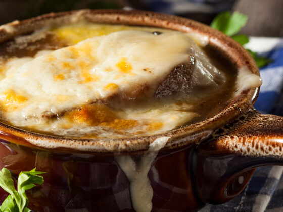 French Onion and Mushroom Soup