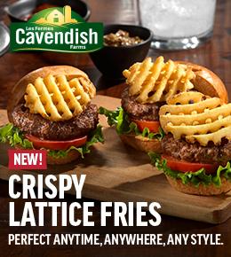 NEW Cavendish Crispy Lattice Fries