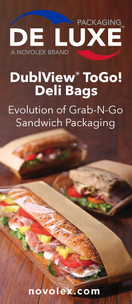 De Luxe Packaging DublView ToGo! Deli Bags