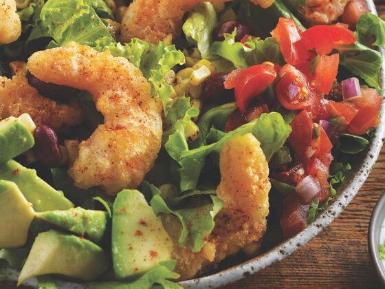 Bam Bam Shrimp Taco Salad Recipe