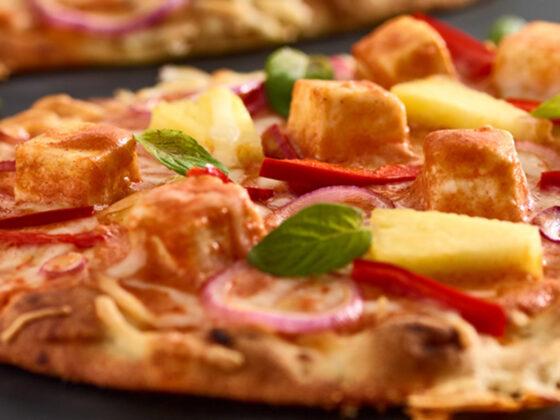 Paneer Butter Pizza