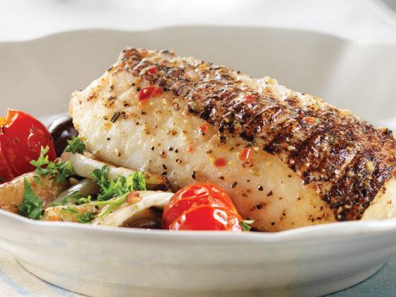 Fennel Salad With Rustic Italian Cod Recipe