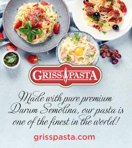 Griss Pasta - Durum Semolina
