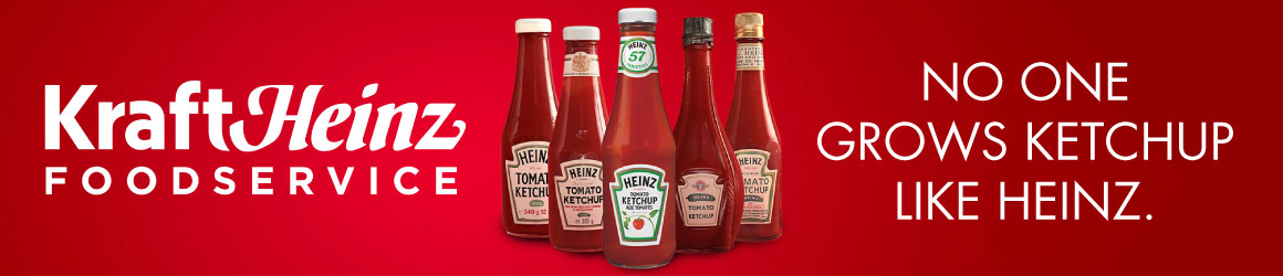 Kraft Heinz Foodservice. No one grows ketchup like Heinz.