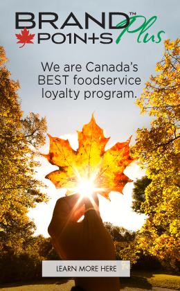 Brand Points PLUS - Canada's Best Foodservice Loyalty Program