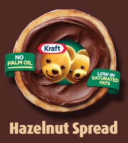 Kraft Hazelnut Spread