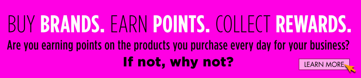 Buy Brands. Earn Points. Brand Points PLUS