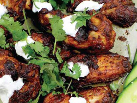 Baked Tandoori Chicken Wings recipe