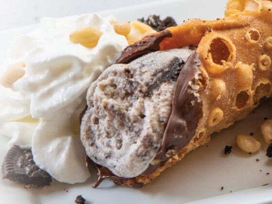 Cookies & Cream Pie Cannoli recipe