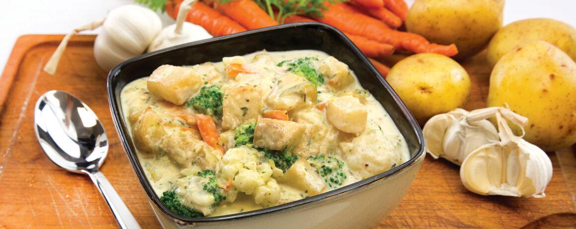 Creamy Potato and Vegetable Casserole Recipe