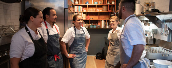 Respectful work environment in restaurants