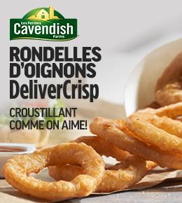 Les Fermes Cavendish Rondelles d'Oignons DeliverCrisp