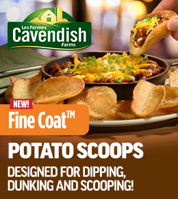 Cavendish Fine Coat Potato Scoops