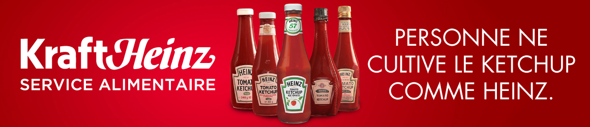 Kraft Heinz Service Alimentaire - Personne ne cultive le ketchup comme Heinz.