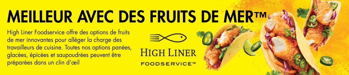 High Liner Foodservice. Meilleur avec des fruits de mer.