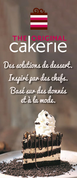 The Original Cakerie. Des solutions de dessert.