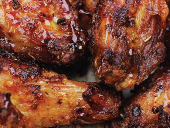 Recette D'Ailes de poulet fumées