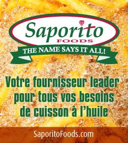 Saporito Foods. Votre fournisseur leader pour tous vos besoins de cuisson a l'huile.