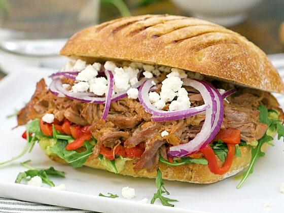 Sandwich italien au boeuf