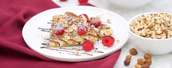 Chocolate Hazelnut Crepes Recipe