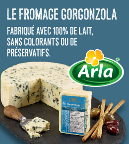 Le Fromage Goronzola de Arlo
