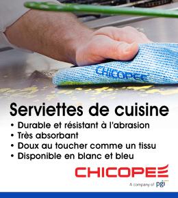 Chicopee Serviettes de Cuisine