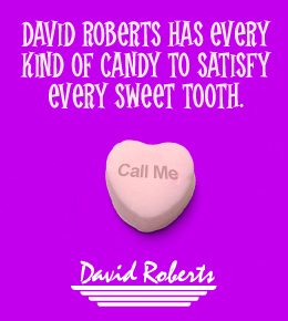 David Roberts - Candy to satisfy any sweet tooth.