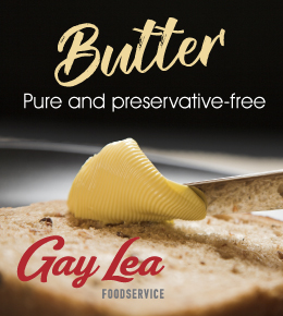 Gay Lea Foodservice Pure and Preservative-Free Butter
