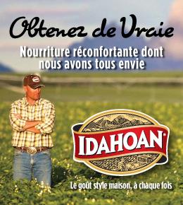 Idahoan - Obtenez de Vraie Nourriture Réconfortante