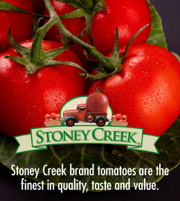 Stoney Creek Brand Tomatoes