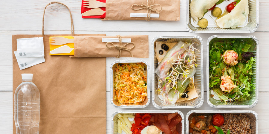 Proper packaging for takeout