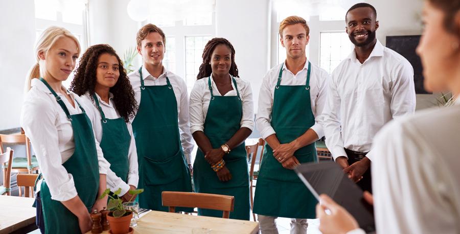 Sales contests - Internal marketing for restaurants