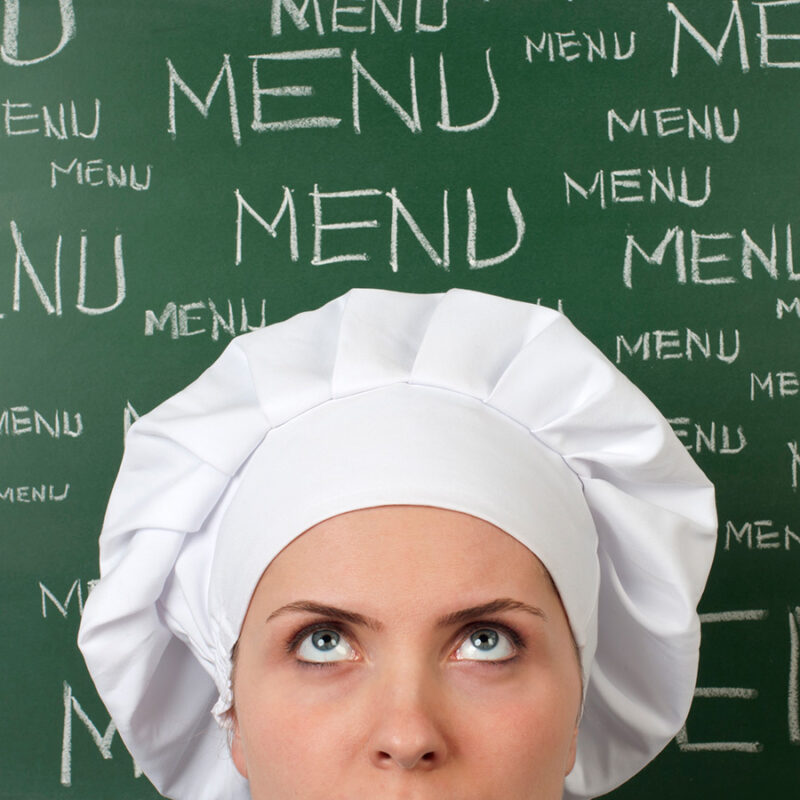 Downsizing the menu in your restaurant