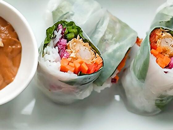 Tiki Island Shrimp Roll Recipe