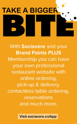 Take A Bigger Bite, with Sociavore and Brand Points PLUS