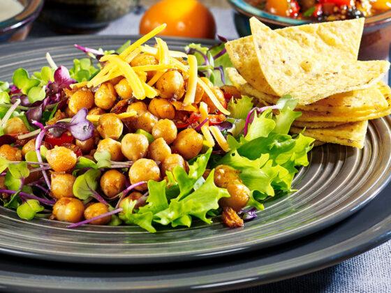 Chickpea Taco Salad