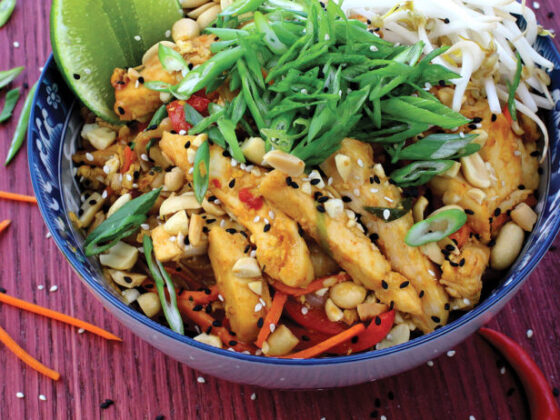 Pad thaau poulet recette