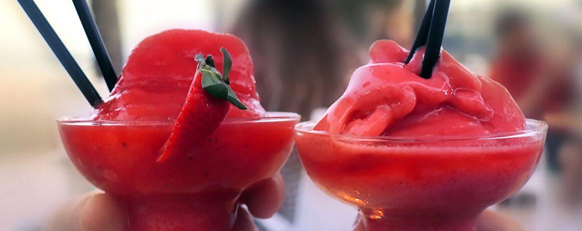 Tornade aux fraises et à la limonade