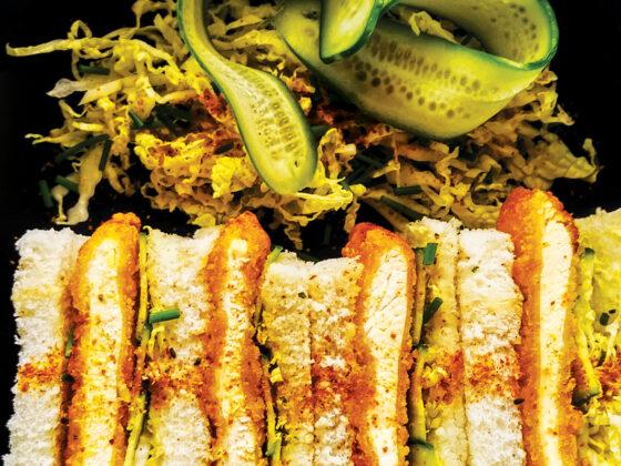 Chicken Katsu Sando with Tonkatsu Sauce