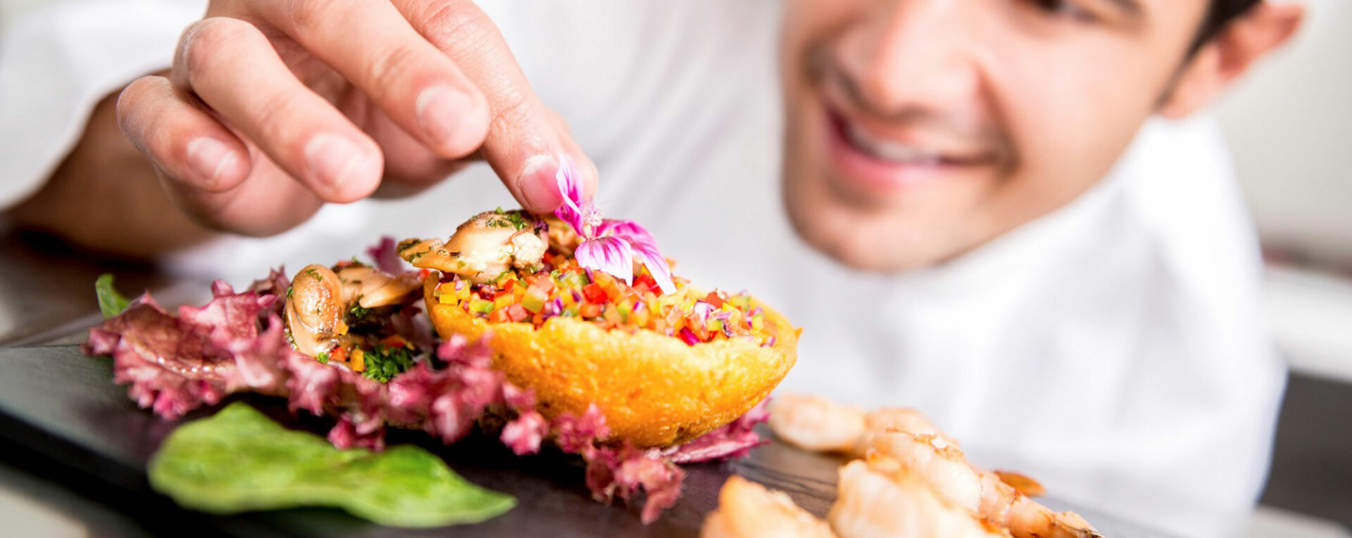 The art of food plating